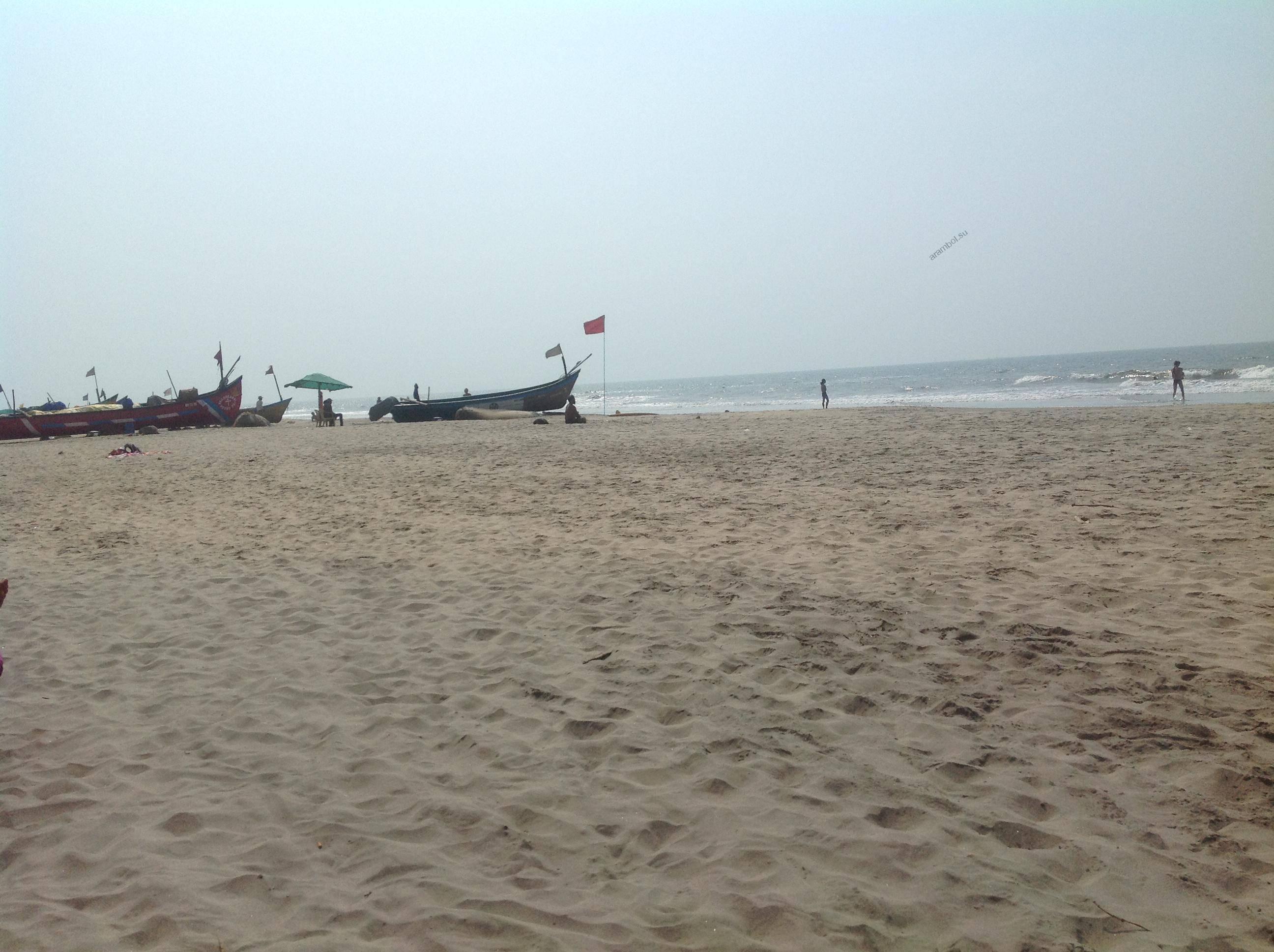 Рыболовные лодки на плже