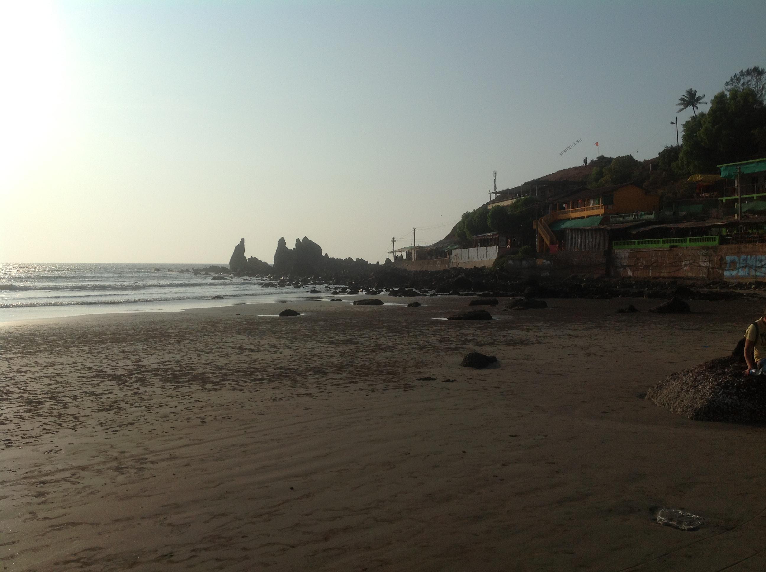 На другом конце пляжа Арамболь