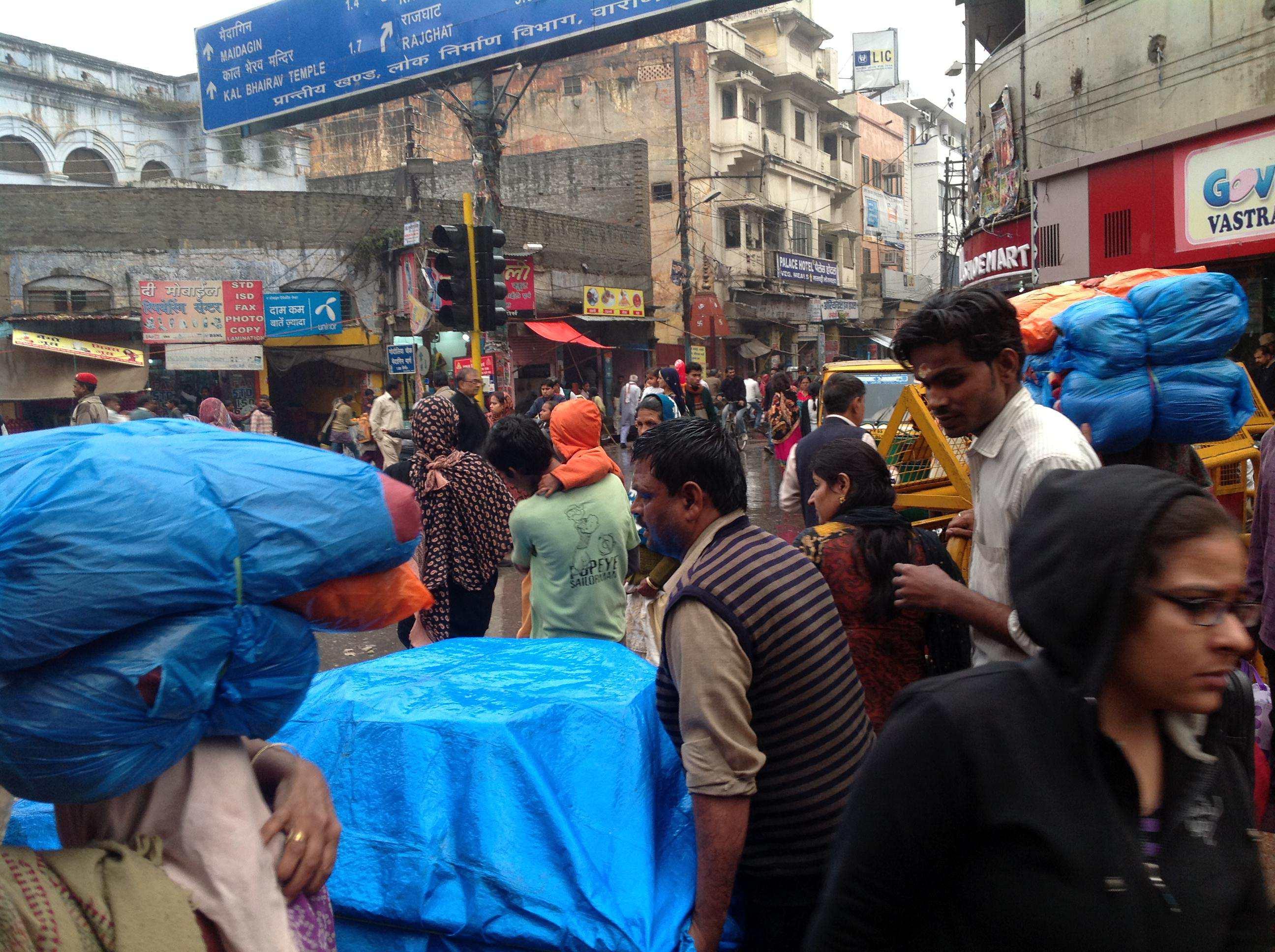 Дождь зимой в Индии