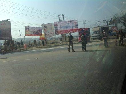 Полиция Индии в парадной форме