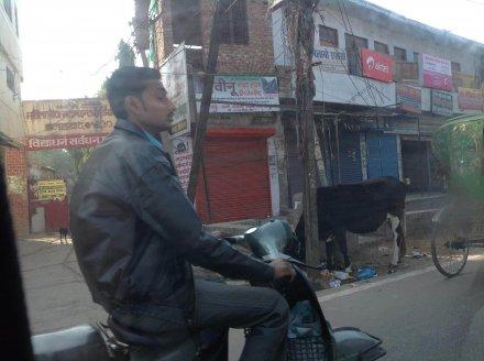 Самый распространённый транспорт в Индии