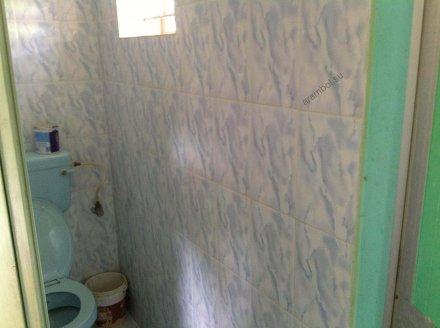 Маленький туалет с душем