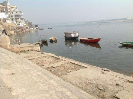 Лодки на Ганге