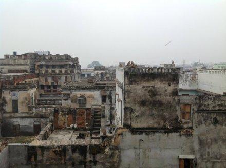 Крыши старого города Варанаси
