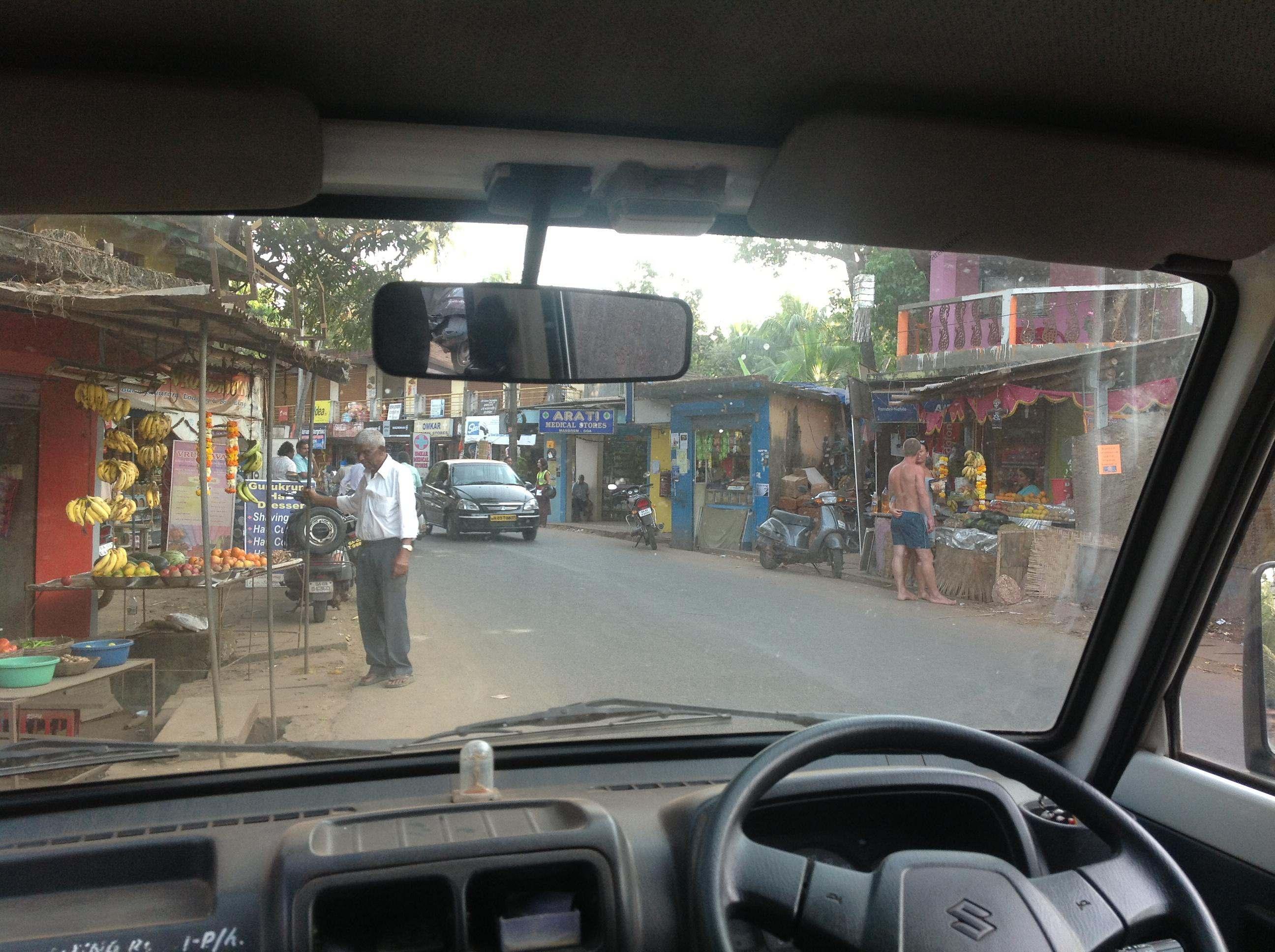 Улица на Гоа